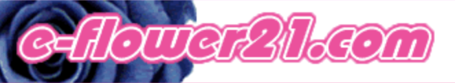 e-flower21.com ロゴ